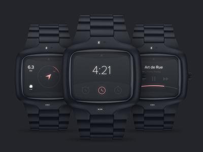 Nixon smart watch concept