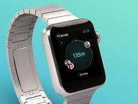 Apple Watch App - Find your Friends
