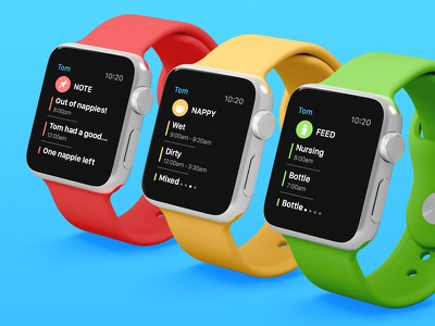 Baby Bundle - Watch applewatch wearables flat parenting watch ipad iphone app bundle baby kickpush