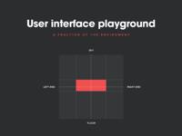Virtual reality interfaces - UI Playground