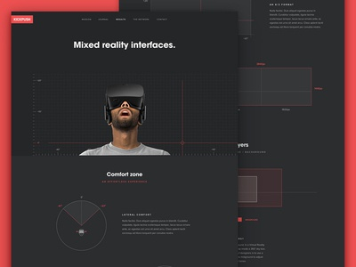 Kickpush VR web design mixed learn design ui ar vr research reality augmented virtual kickpush