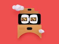Kickpush - Google Cardboard