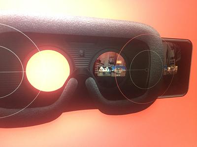 Kickpush.co - VR app display exploration