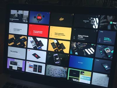 Kickpush website - Case studies overview design product express portfolio agency branding ux ui study case website kickpush
