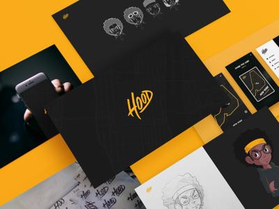 Kickpush.co   Hood illustration branding ux ui game iphone study case app hood kickpush