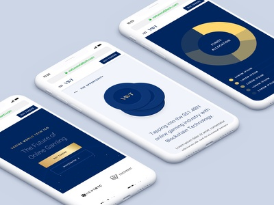 VWT - Cryptocurrency ICO branding ui atm web android ios cryptocurrency btc blockchain bitcoin crypto ico