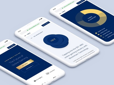 VWT - Cryptocurrency ICO branding ui atm web android ios cryptocurrency btc blockchain bitcoin crypto ico