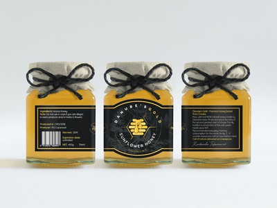 Danube's Gold (Label design + side labels)