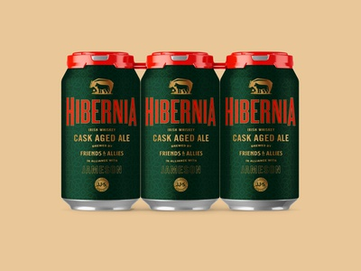 Hibernia Beer Label Design (RIP)