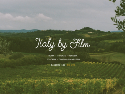Italy By Film
