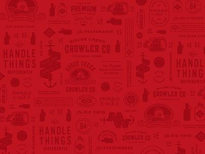 GCG004 Pattern Background pattern background pattern beer growler