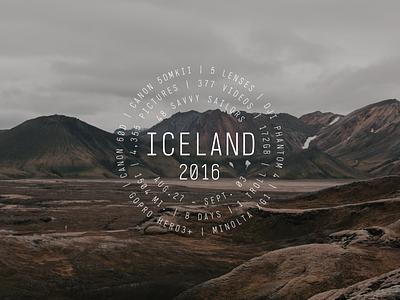 Iceland Travel Badge   travel sweetgraphix circletypeyall travelbadge