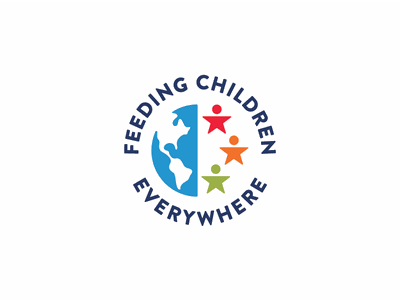 Feeding Children Everywhere Logo globe world logo