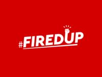 FiredUp logo design