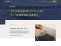 WIP Stock & Noble website concepts typography australia