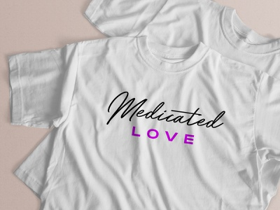 Tee designs for Melbourne band: Medicated Love typogaphy rock and roll indie typography design melbourne australia