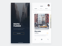 Routes Planner - Travel app