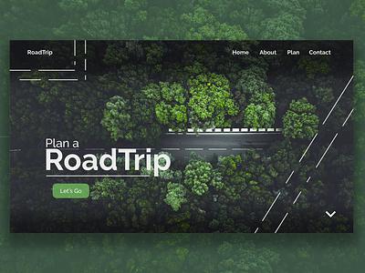 Web design - Road Trip webdesigner roadtrip illustration le web ux ui