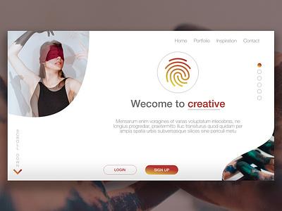 Web Design - Creative creative conception webdesigner le web illustration ux ui