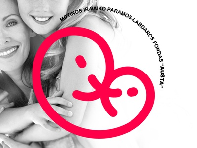MOTHER AND CHILD CHARITY FUND logo design