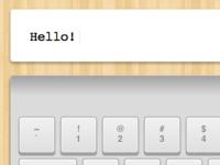 Hello! keyboard javascript jquery