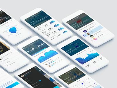 Swimsongapp sketch mobile app ui desgin