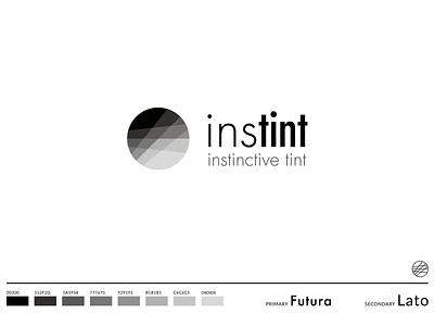 Instint Logo illustrator vector brand logo graphic