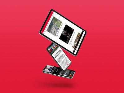 RTS app feed news design app mobile app