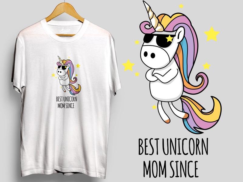Unicorn mom icon logo unique dabbing tshirts unicorns vector art designer tshirtdesign tshirt art unicorn tshirt design artworked branding vector illustration artwork art design animation