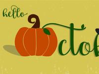 October Illustration
