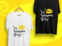 My Biriyani Story - Logo Design