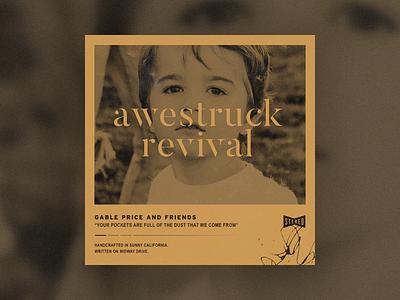 Awestruck Revival - Single Cover album album art