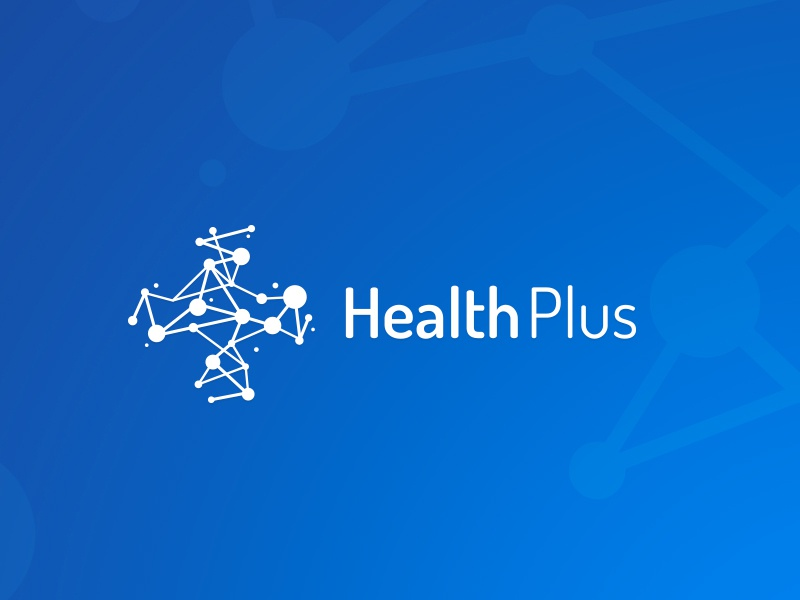 Health Plus naming logo