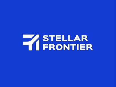Stellar Frontier 1 logo moon mars astronot rocket space arrrownot