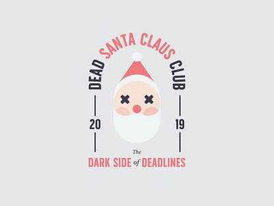 Dead Santa Club #04 illustration club doodle dead newyear christmas santa