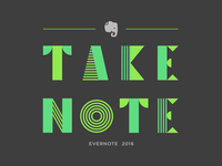 Evernote Swag