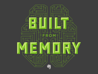 Evernote Intern Swag—Built from Memory