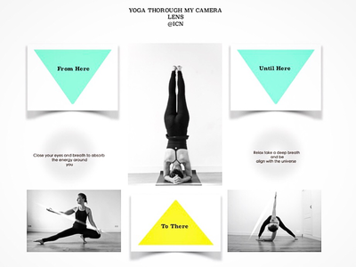 YTMCL photography icnworld concept schoolproject project yoga finalize