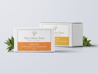 Olive Tree Soap label 1