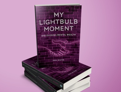 My lightbulb moment Book Cover design