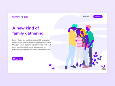 Family Room Landing Page