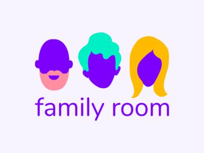 Family Room Logo figma illustration vector ui logo design branding