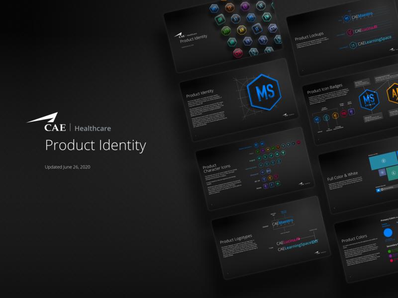 Product Identity application logo icon dan maitland