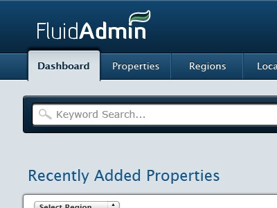 Proto Admin ui user interface dan maitland