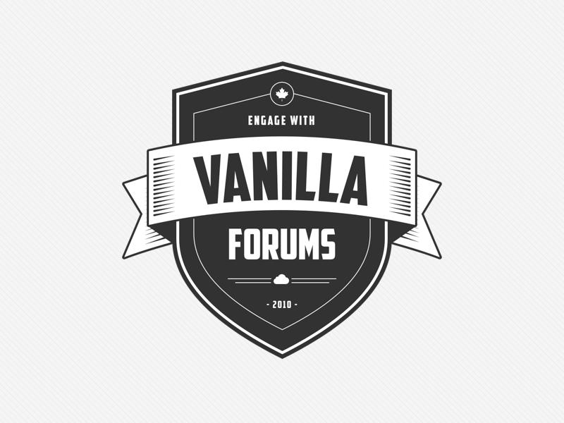 Vanilla Forums Emblem vanilla forums emblem
