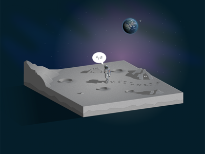 Close Encounter astronaut moon cutaway