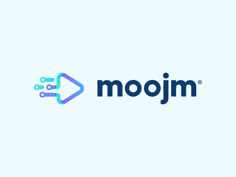 Moojm Identity software graphics branding coding programming icon logo
