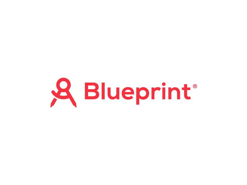 Blueprint App brand tools development compass logo app blueprint