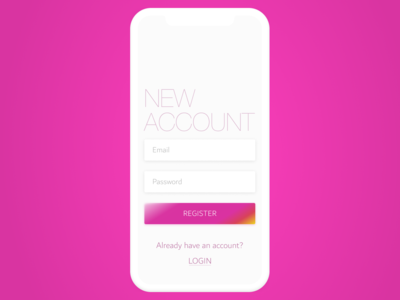 Daily UI #1: Signup