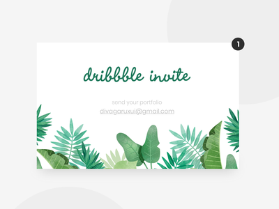 Dribbble Invite Card interaction design adobe xd dribbbleweeklywarmup dribbble invitation dribbble best shot dribbble invite invitation card ui design